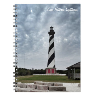 Caderno do farol de Hatteras do cabo