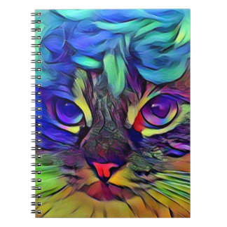 Caderno do gatinho de Marilyn