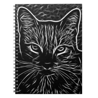 Caderno do gato de Fractalius