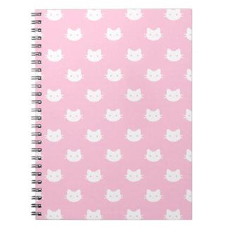 Caderno do gato do gatinho