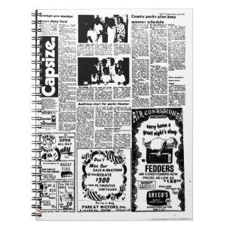 Caderno do jornal (80 páginas B&W)