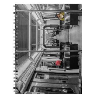 Caderno do metro
