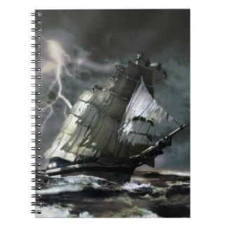 Caderno do navio do fantasma