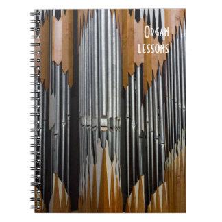 Caderno do órgão