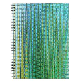 Caderno do plâncton vegetal pelo artista C.L.
