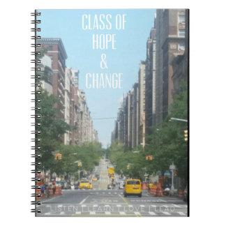 Caderno do Promo da rua de ClassofHC NYC