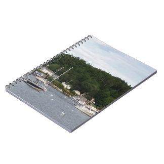 Caderno dos barcos do porto de Boothbay (80