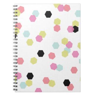 Caderno dos confetes do Hex