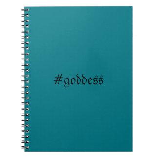 Caderno dos #goddess da cerceta