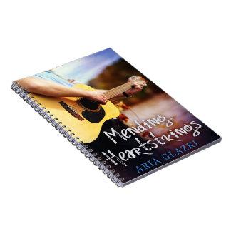 Caderno dos Heartstrings da emenda