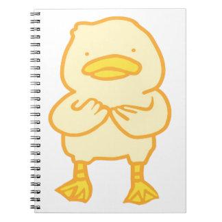 Caderno Ducky da foto (80 páginas B&W)