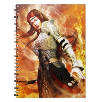 Caderno Duende do fogo