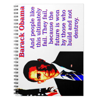 Caderno E as pessoas gostam desta - Barack Obama