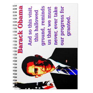 Caderno E assim esta visita - Barack Obama