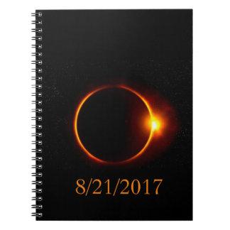 Caderno Eclipse solar!
