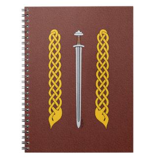 Caderno Espada e Plaitwork de Viking