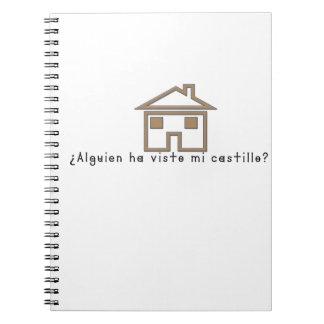 Caderno Espanhol-Castelo