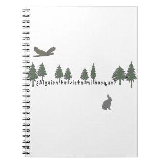 Caderno Espanhol-Floresta