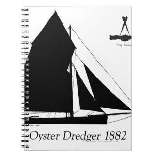 Caderno Espiral 1882 draga da ostra - fernandes tony