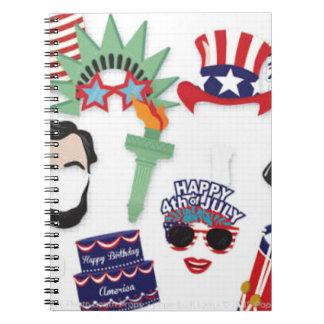Caderno Espiral 4o do feriado de julho - Dia da Independência