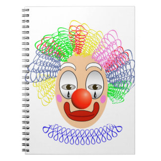 Caderno Espiral 97Clown Head_rasterized