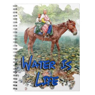 Caderno Espiral A água é vida