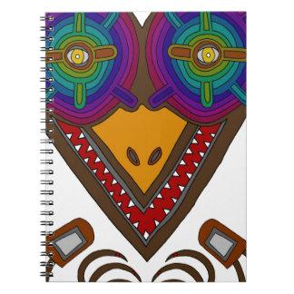 Caderno Espiral A cegonha