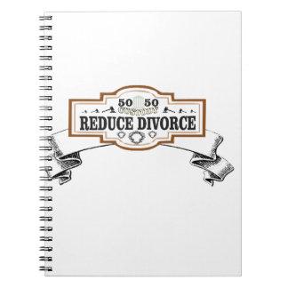 Caderno Espiral a custódia 50 50 reduz o divórcio