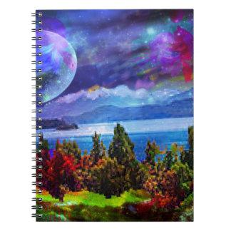 Caderno Espiral A fantasia e a imaginação vivem junto