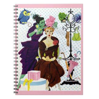 Caderno Espiral A inveja 1956 sussurra na orelha de Gloria