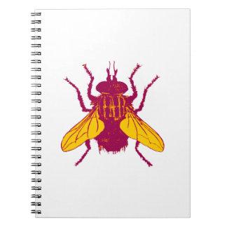 Caderno Espiral A mosca da casa