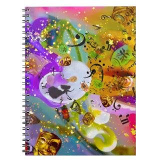 Caderno Espiral A música pode expressar tudo e dizer nada