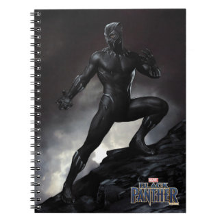 Caderno Espiral A pantera preta | agarra para fora