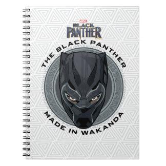 Caderno Espiral A pantera preta | fez em Wakanda