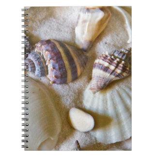 Caderno Espiral A praia descasca o tema #2