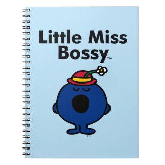 Caderno Espiral A senhorita pequena pequena Bossy da senhorita | é