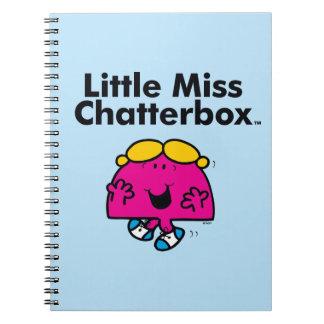 Caderno Espiral A senhorita pequena pequena Chatterbox da