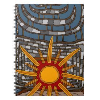 Caderno Espiral A última casa de tesouro