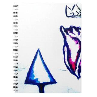 Caderno Espiral A vitória de um coração pela luminosidade