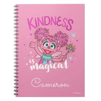 Caderno Espiral Abby Cadabby - a bondade é mágica