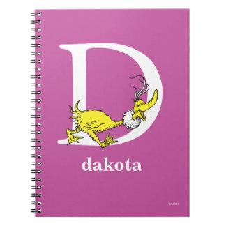Caderno Espiral ABC do Dr. Seuss: Letra D - O branco | adiciona
