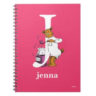 Caderno Espiral ABC do Dr. Seuss: Letra J - O branco   adiciona