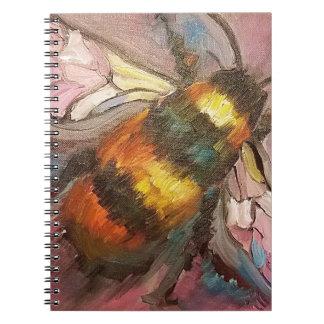 Caderno Espiral Abelha