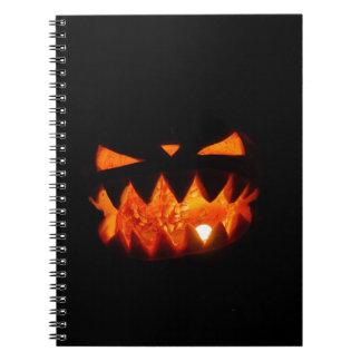 Caderno Espiral Abóbora do Dia das Bruxas