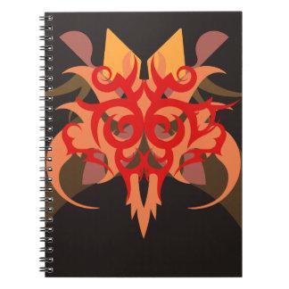 Caderno Espiral Abstracção seis Ares