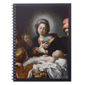 Caderno Espiral Adoração dos pastores do século XVII
