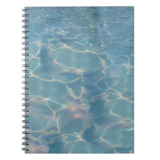 Caderno Espiral Água do oceano