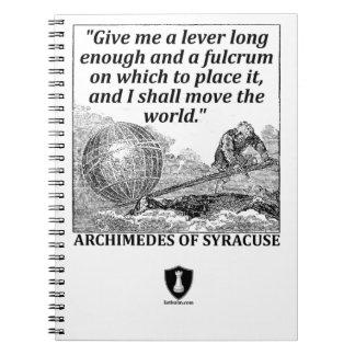 Caderno Espiral Alavanca de Archimedes