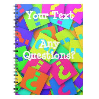 Caderno Espiral Alguma pergunta?