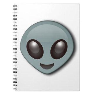 Caderno Espiral Alienígena Eyed inseto